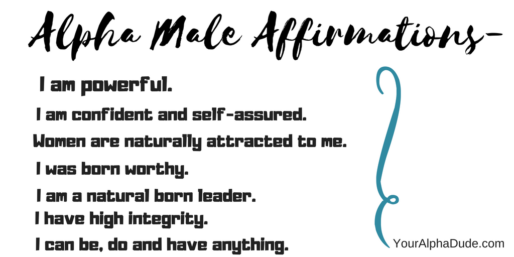 Alpha man traits