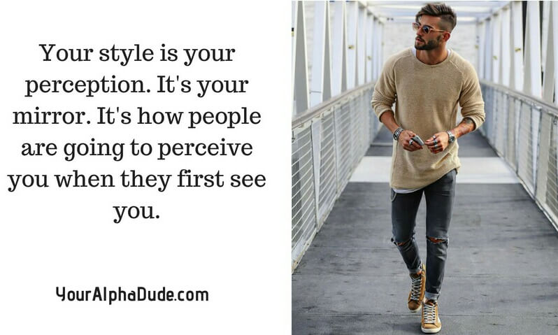 Style Advice From an Alpha Male